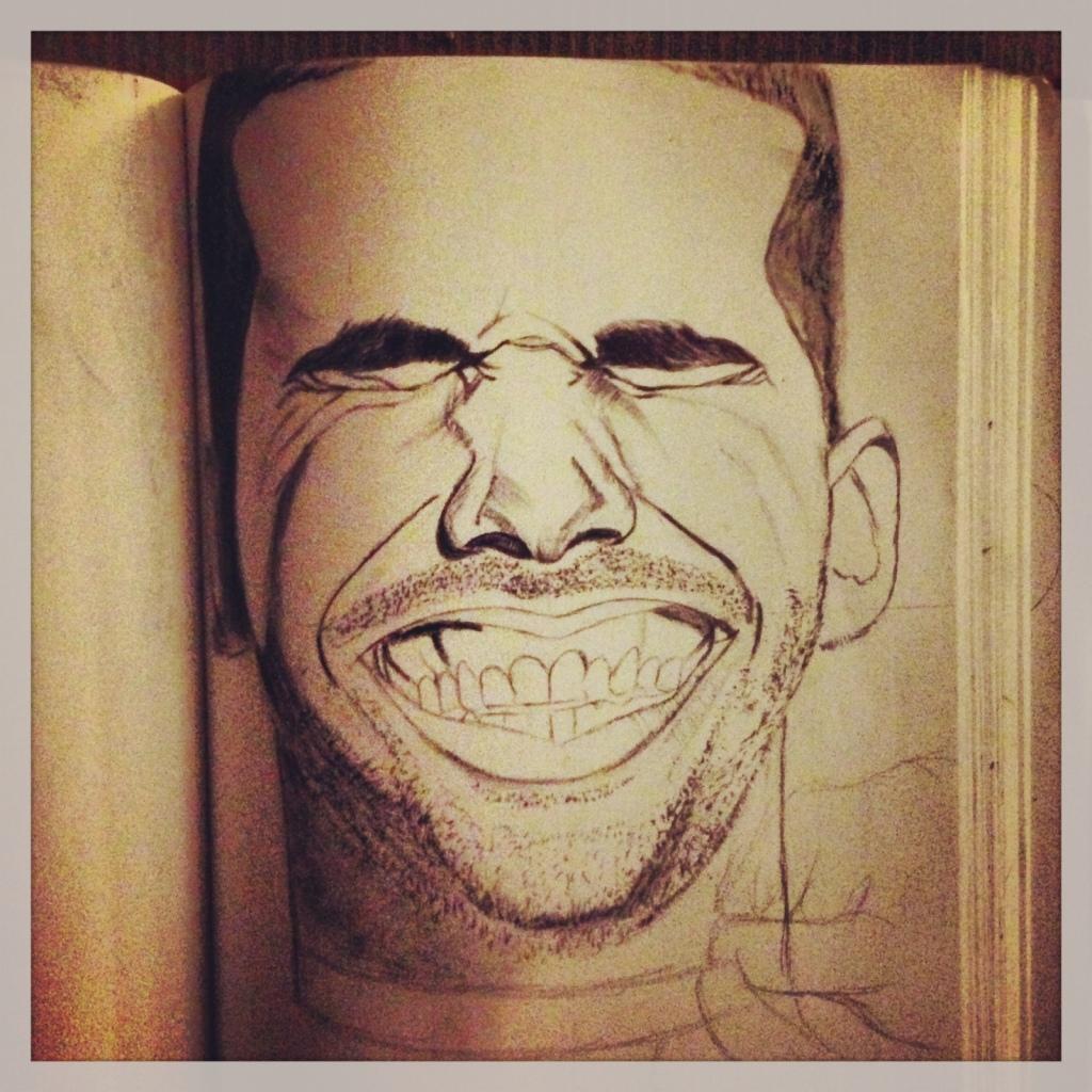 Drake All Smiles